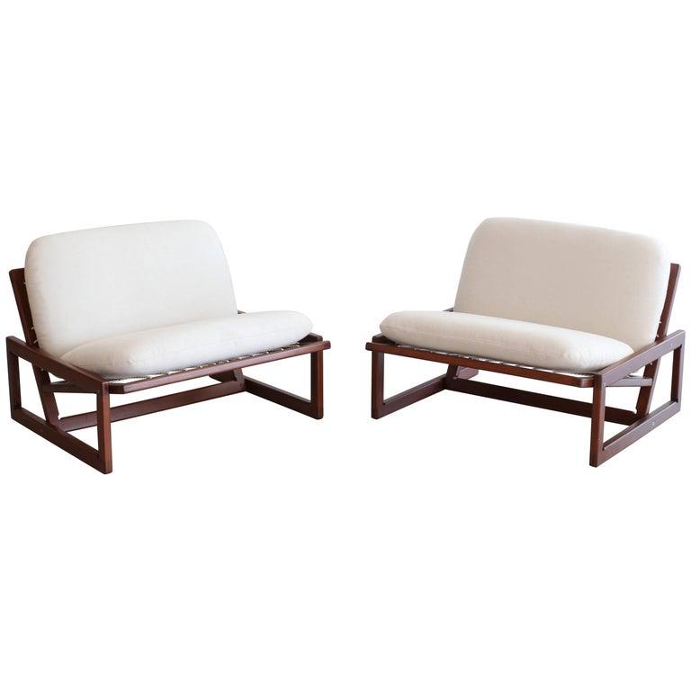 Afra & Tobia Scarpa Carlotta Lounge Chairs For Sale