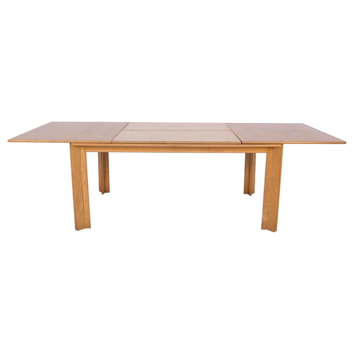 Afra & Tobia Scarpa Dining Table MOD, Monk, Extendable