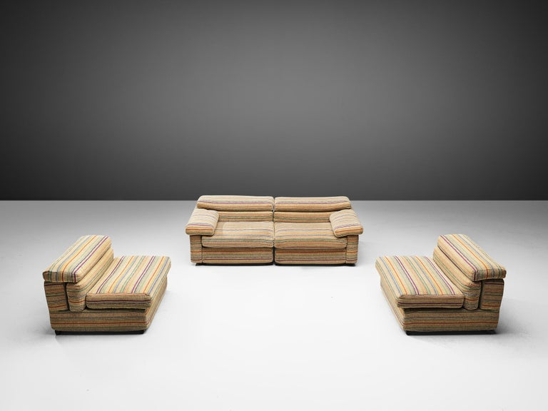 Afra & Tobia Scarpa 'Erasmo' Sectional Sofa For Sale 5