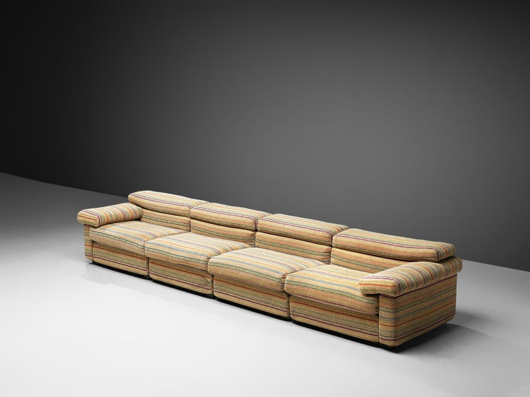 Mid-Century Modern Afra & Tobia Scarpa 'Erasmo' Sectional Sofa For Sale