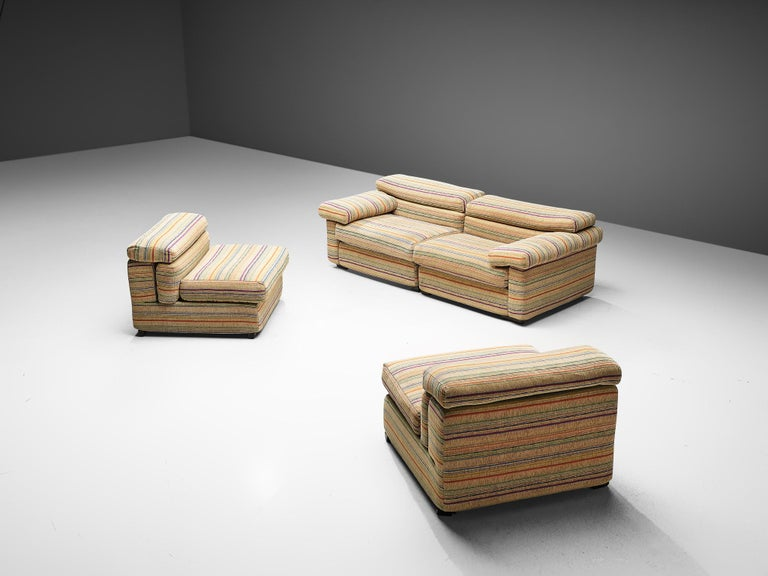 Afra & Tobia Scarpa 'Erasmo' Sectional Sofa For Sale 1