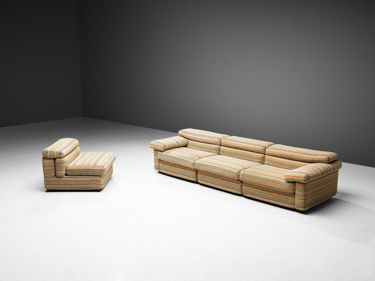 Afra & Tobia Scarpa 'Erasmo' Sectional Sofa For Sale 2