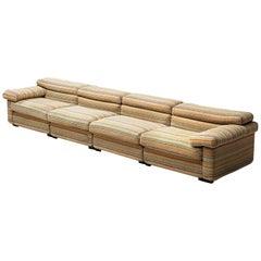 Afra & Tobia Scarpa 'Erasmo' Sectional Sofa