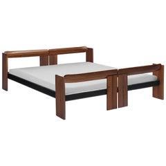 Afra & Tobia Scarpa Kingsize 'Artona' Bed