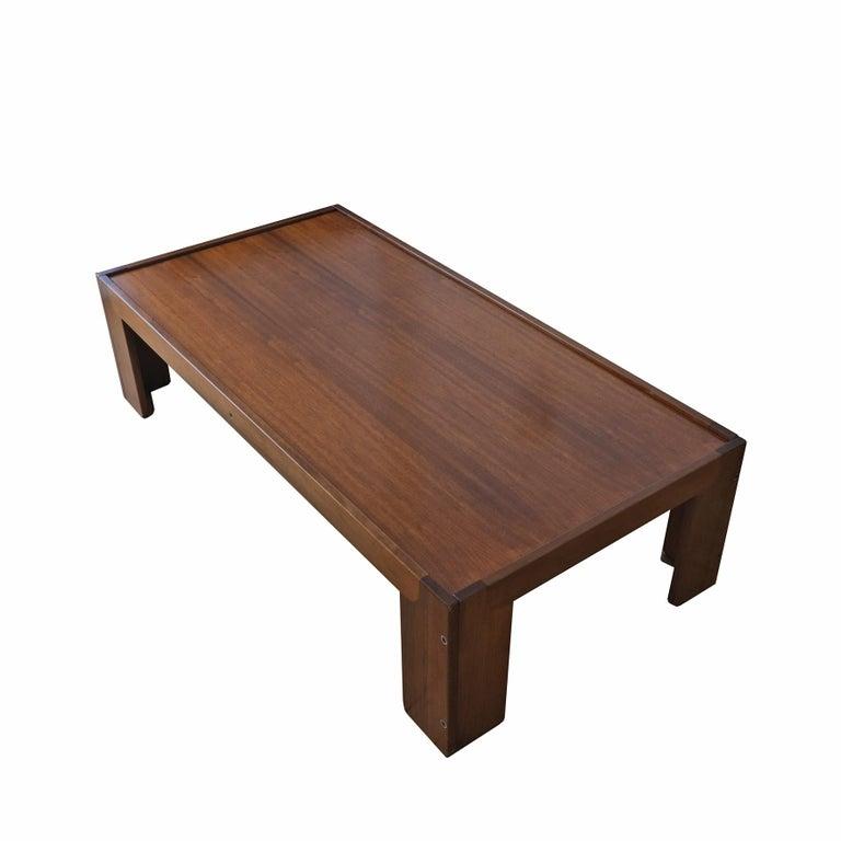 Modern Afra & Tobia Scarpa, Low Table, Model 771, Cassina, 1960s For Sale
