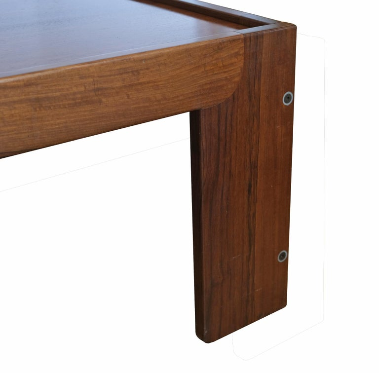 Afra & Tobia Scarpa, Low Table, Model 771, Cassina, 1960s In Good Condition For Sale In Paris, FR