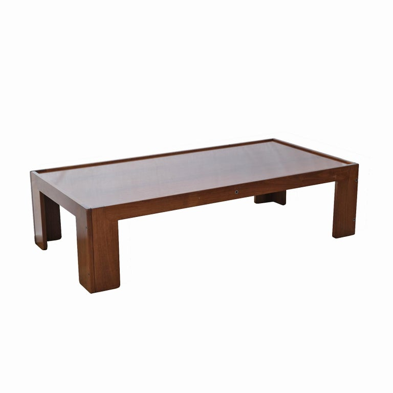 Afra & Tobia Scarpa, Low Table, Model 771, Cassina, 1960s For Sale 1