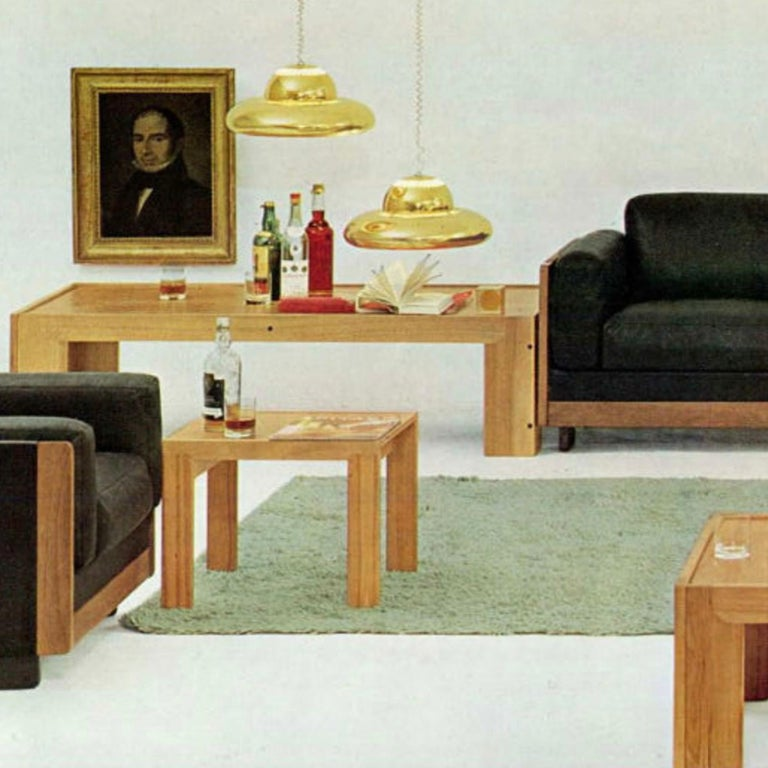 Afra & Tobia Scarpa, Low Table, Model 771, Cassina, 1960s For Sale 2