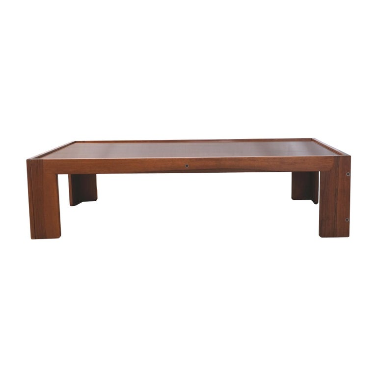 Afra & Tobia Scarpa, Low Table, Model 771, Cassina, 1960s For Sale