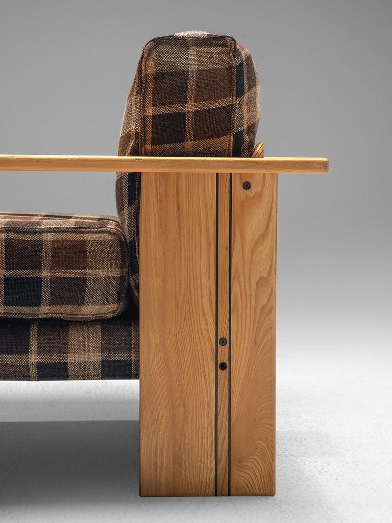 Mid-Century Modern Afra & Tobia Scarpa Pair of 'Artona' Lounge Chairs in Walnut