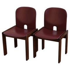 """Afra & Tobia Scarpa, Pair of Chairs, """"121"""", Cassina, 1960s"""
