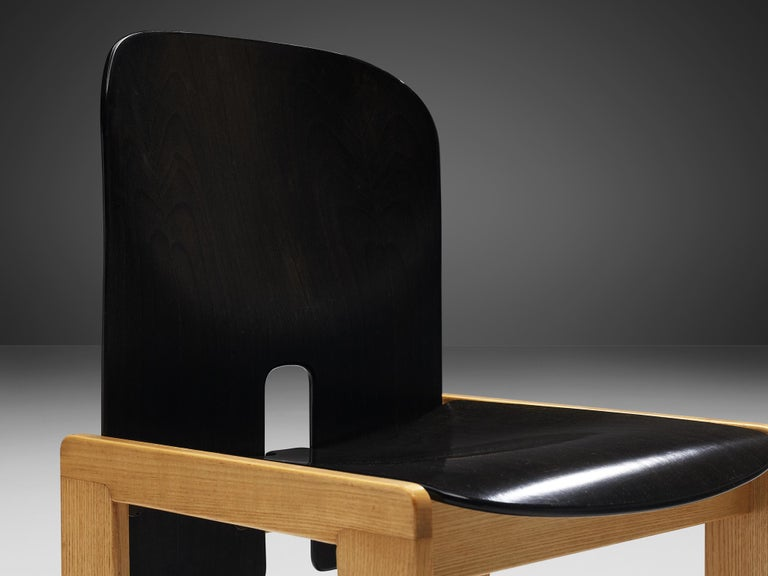 Afra & Tobia Scarpa Set of Six '121' Dining Chairs For Sale 3