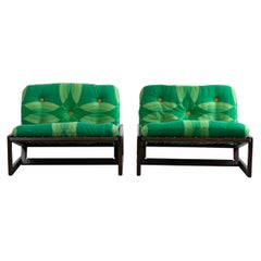 Afra & Tobia Scarpa Set of Two Chairs Carlotta for Cassina, 1967