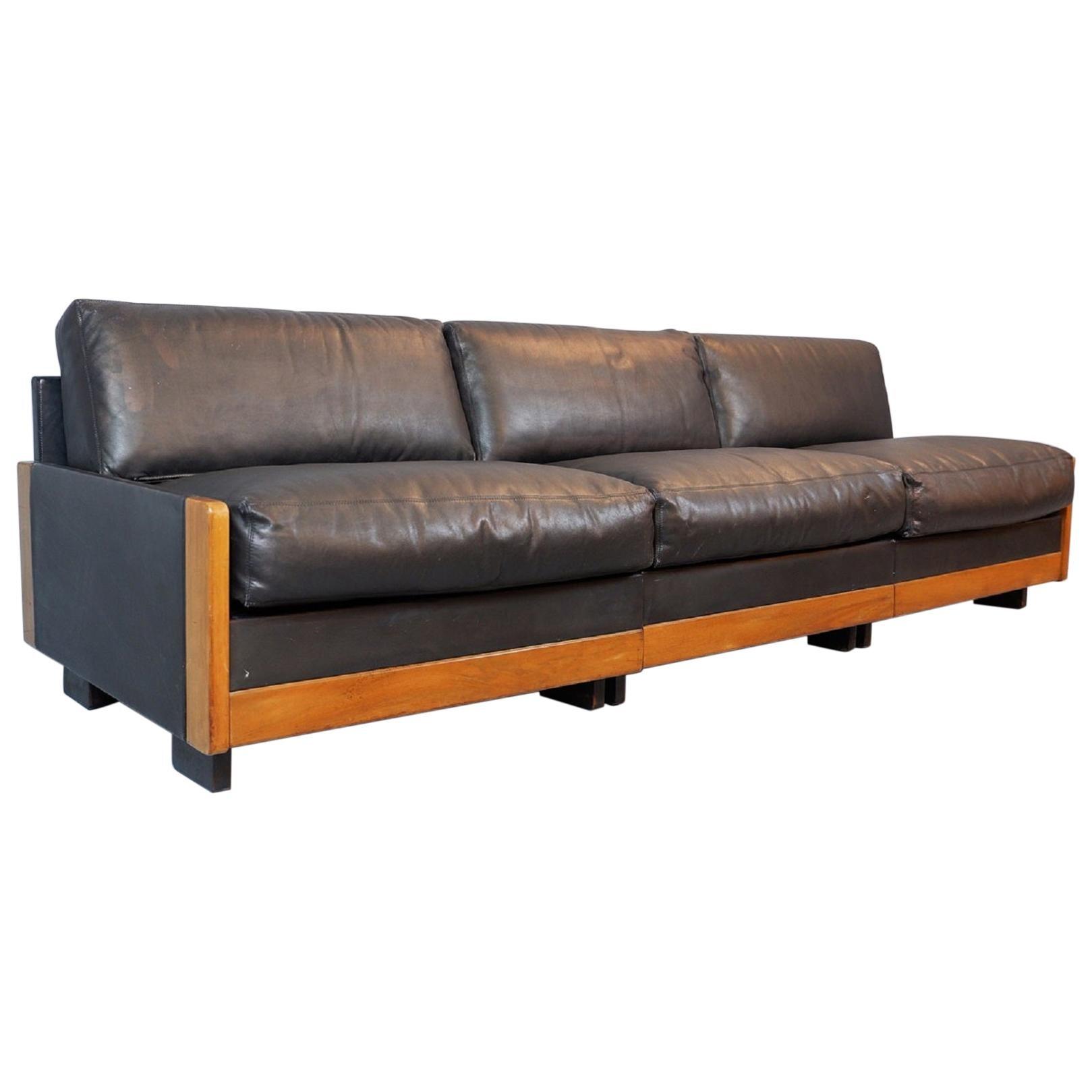 Afra & Tobia Scarpa Sofa '920' for Cassina, 1970s