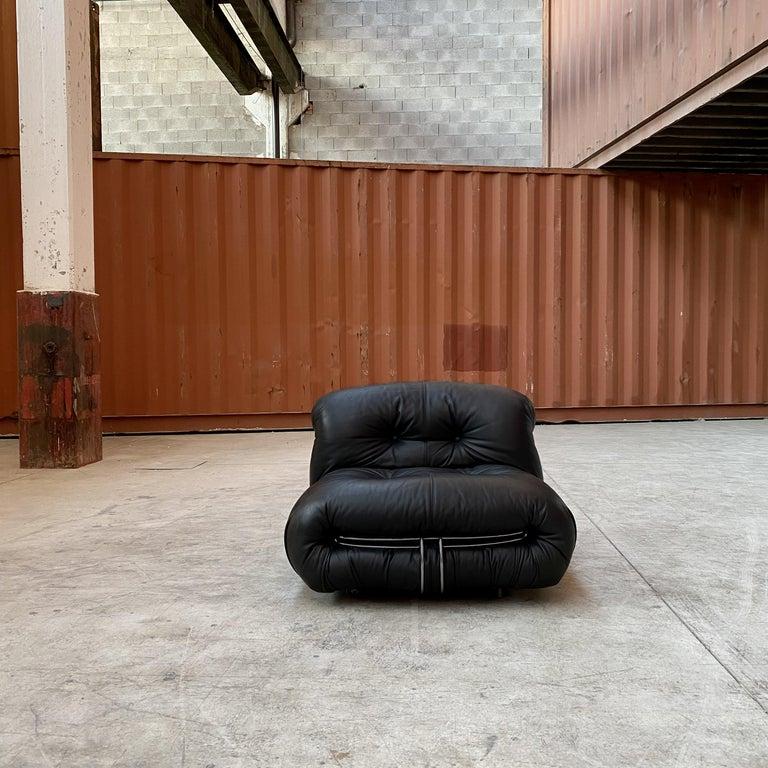"Afra & Tobia Scarpa ""Soriana"" Living Room Set for Cassina, 1969 For Sale 6"