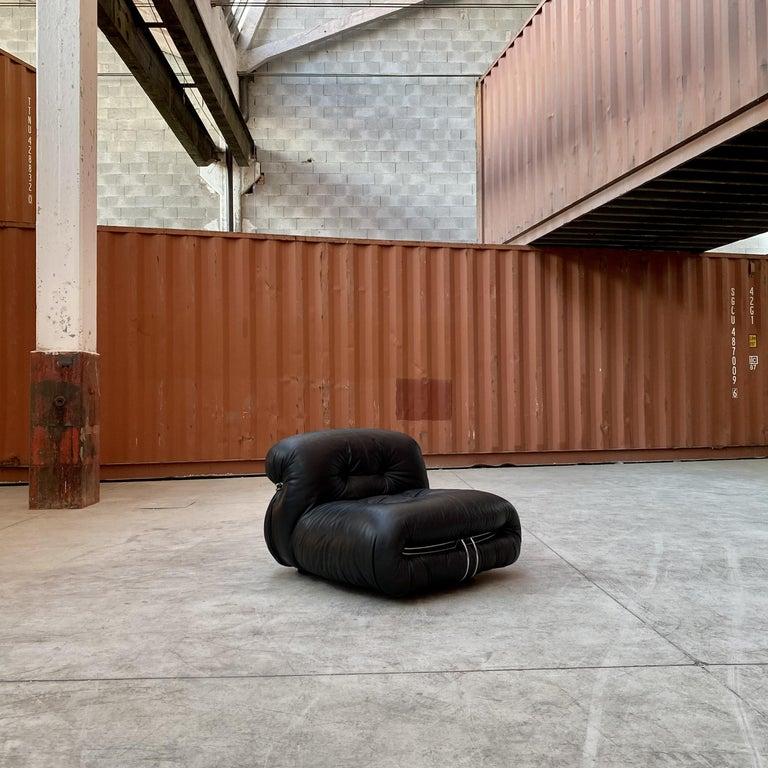 "Afra & Tobia Scarpa ""Soriana"" Living Room Set for Cassina, 1969 For Sale 7"