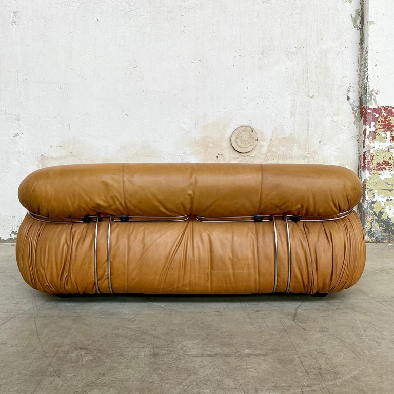 """Mid-20th Century Afra & Tobia Scarpa """"Soriana"""" Living Room Set for Cassina, 1969 For Sale"""