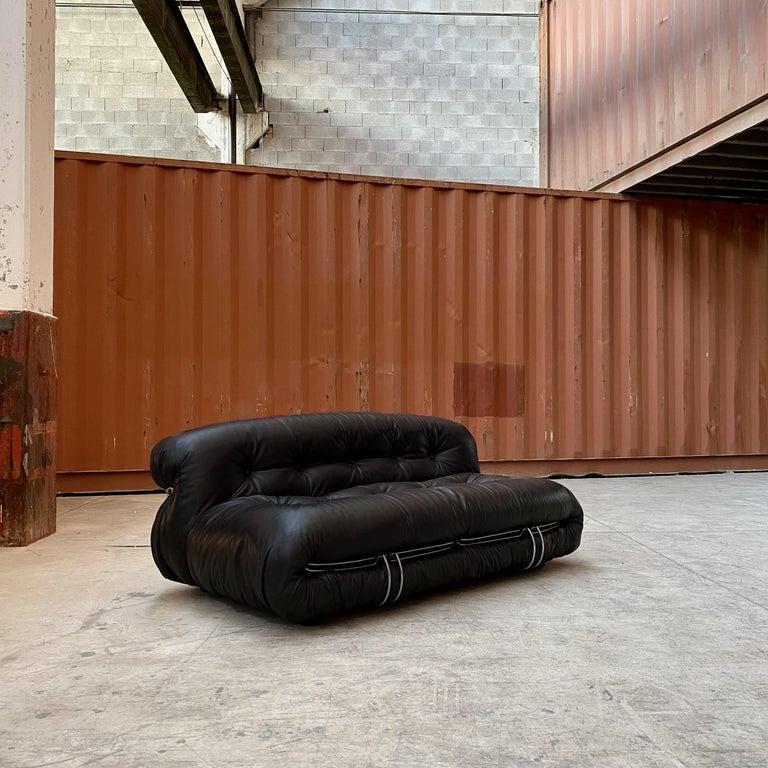 "Afra & Tobia Scarpa ""Soriana"" Living Room Set for Cassina, 1969 For Sale 1"