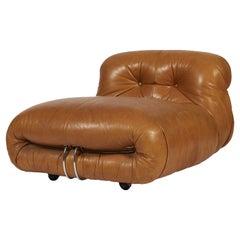 Afra & Tobia Scarpa, Soriana Lounge Chair, Cassina, 1970s