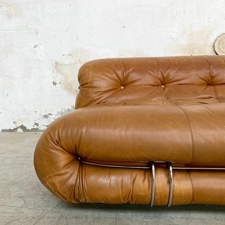 "Afra & Tobia Scarpa ""Soriana"" Sofa for Cassina, 1969 For Sale 5"