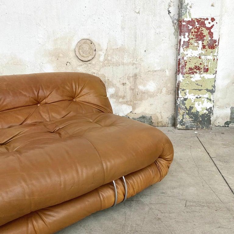 "Afra & Tobia Scarpa ""Soriana"" Sofa for Cassina, 1969 For Sale 6"