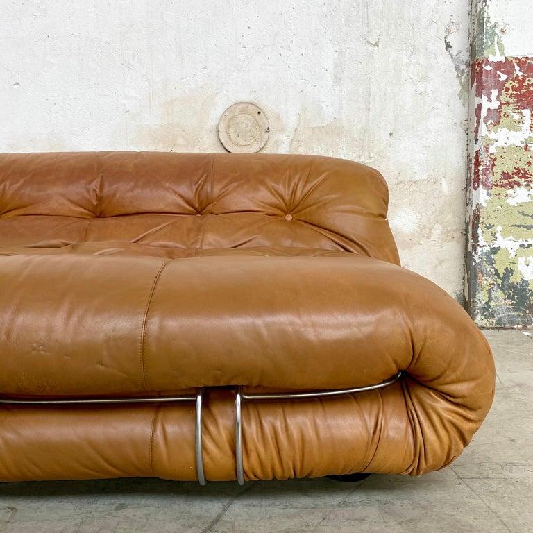 "Afra & Tobia Scarpa ""Soriana"" Sofa for Cassina, 1969 For Sale 8"