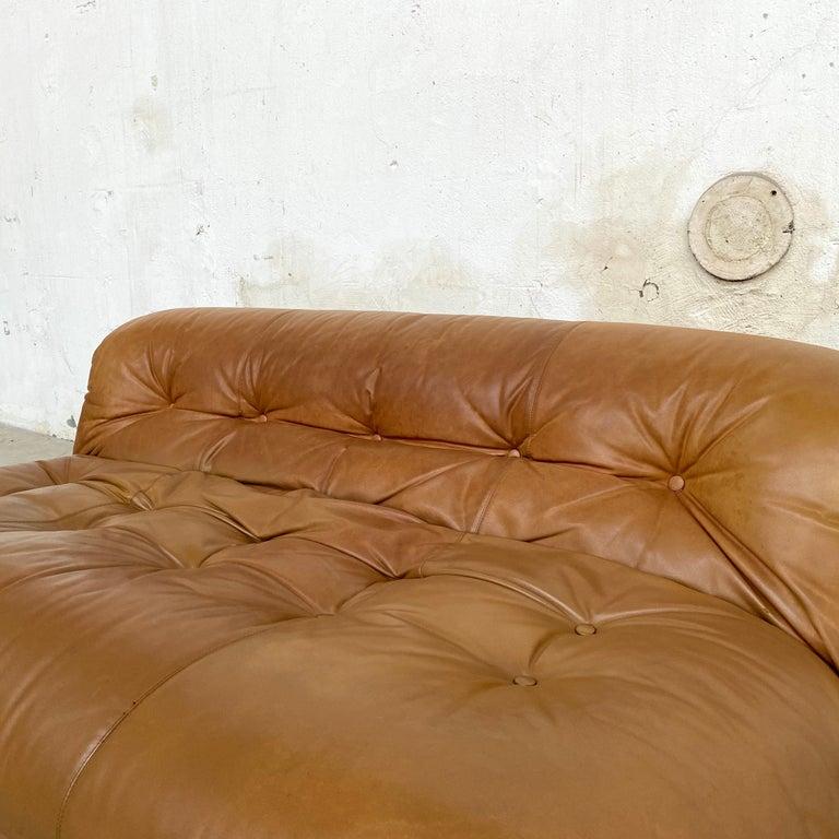 "Afra & Tobia Scarpa ""Soriana"" Sofa for Cassina, 1969 For Sale 9"