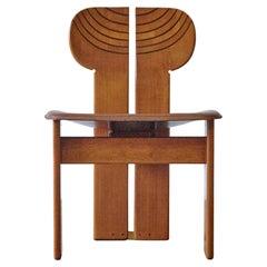Africa Chair by Afra & Tobia Scarpa, Maxalto, Artona Series, Italy 1970s-1980s