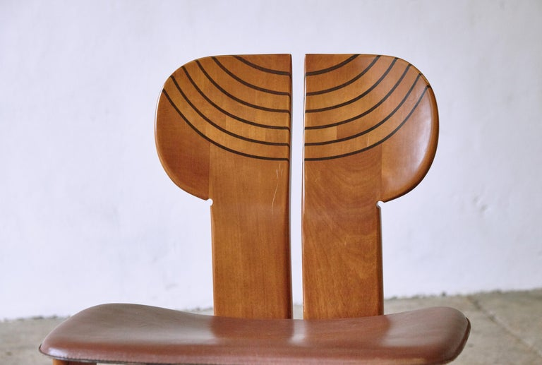 Africa Dining Suite, Afra & Tobia Scarpa, Maxalto, Italy, 1970s-1980s For Sale 12