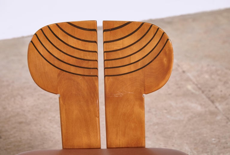 Africa Dining Suite, Afra & Tobia Scarpa, Maxalto, Italy, 1970s-1980s For Sale 13
