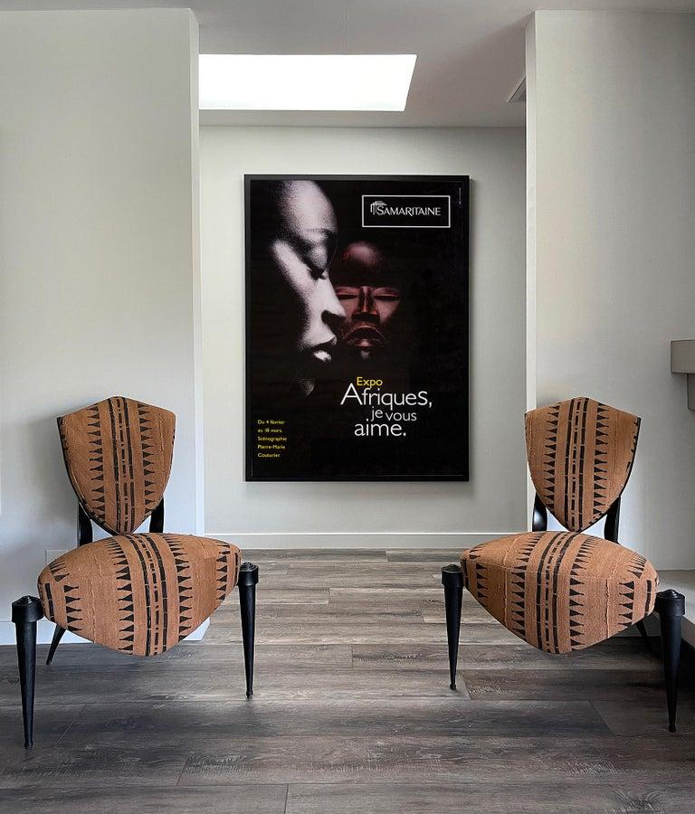 Paper Africa, Original Poster from Samaritaine Exhibition Paris For Sale