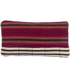 African Ashante Stripe Pillow