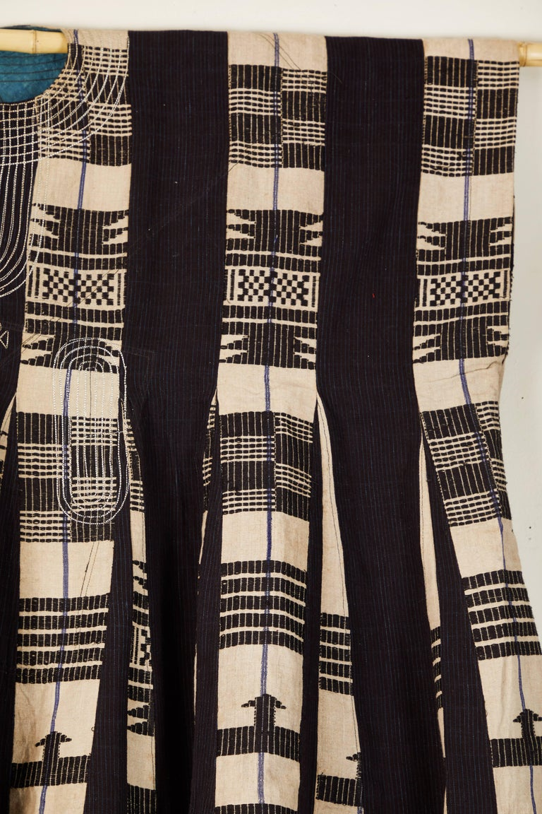Nigerian African Aso Oke Men's Tunic, Nigeria For Sale