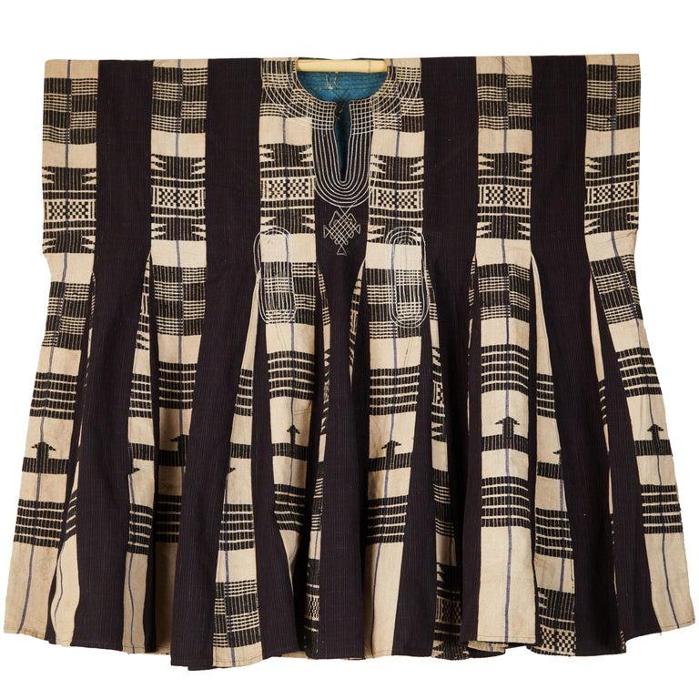 African Aso Oke Men's Tunic, Nigeria For Sale