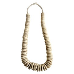 African Bone Beads in Natural