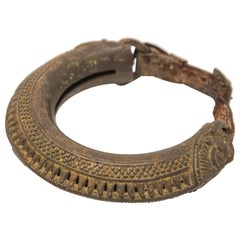 Cast Bronze Tribal Bell Camel Anklet
