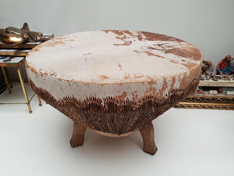 African Coffee Table For Sale 3