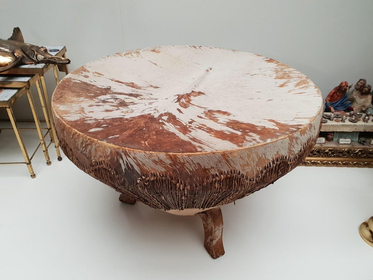 African Coffee Table For Sale 5