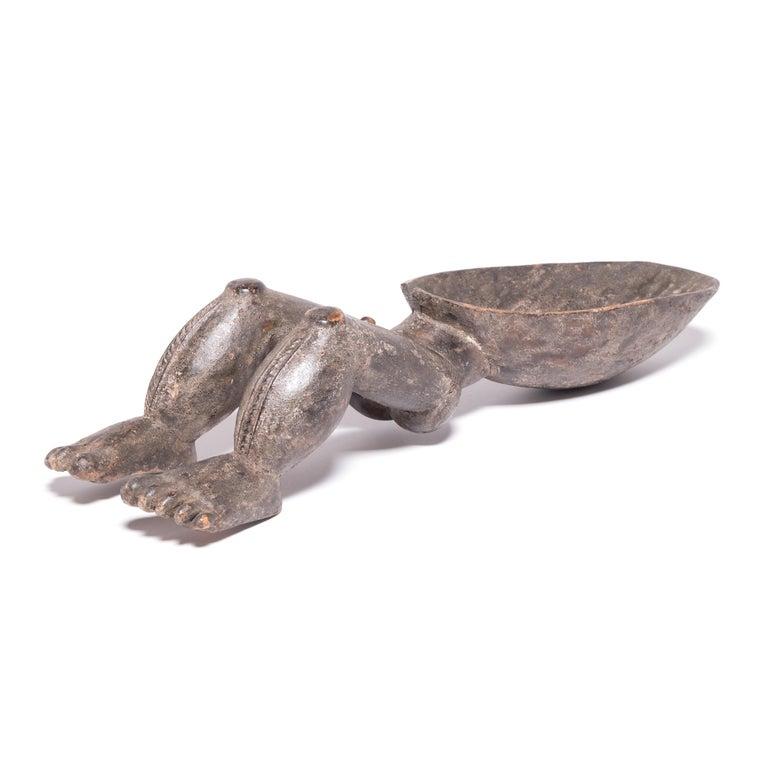 Ivorian African Dan Wunkirmian Ladle Figure For Sale