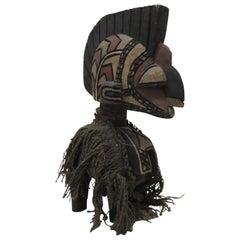 African D'mba Headdress Aka Spirit Artisanal Sculpture