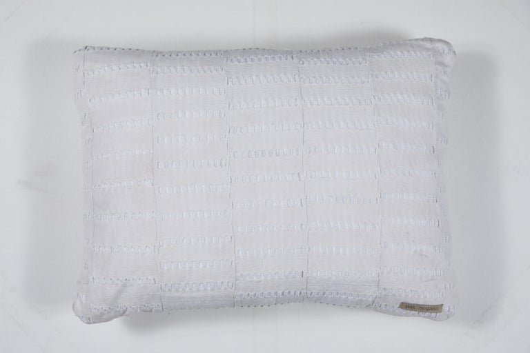 African Embroidery Pillow In Good Condition For Sale In Los Angeles, CA