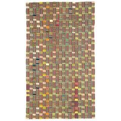 African Ewe Kente Cloth Textile/Wall Hanging
