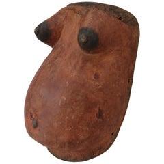 African Fertility Body Mask, Wall Hanging