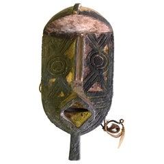 African Gurunsi Burkina Faso Wood Carved Mask