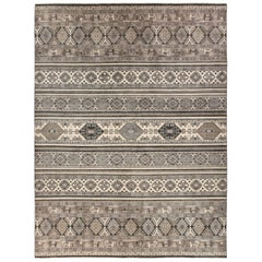 African, Hand Knotted Area Rug