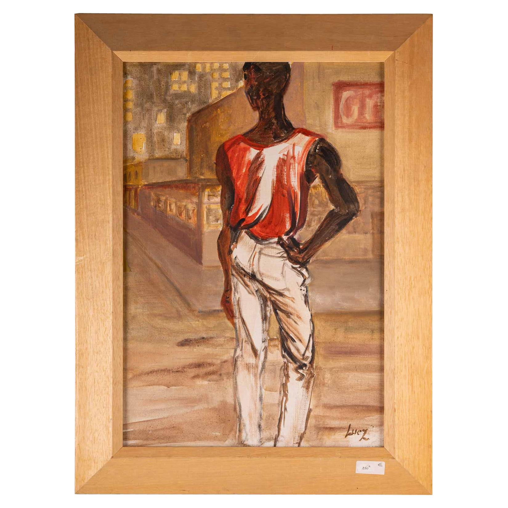 African in Red Shirt, 20th Century