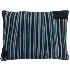 African Indigo Ashante Pillow