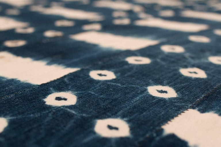African Indigo Dyed Textile For Sale 2