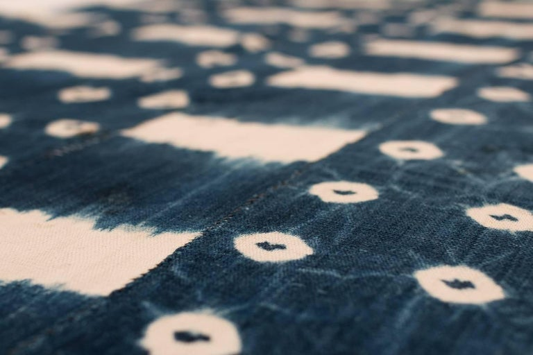 African Indigo Dyed Textile For Sale 1