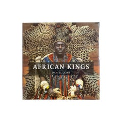 African Kings Portraits of a Disappearing Era by Daniel Laine Coffee Table Book